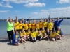 Beachvolleyball in Damp Sommer 2017