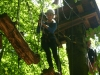 Weibliche C-Jugend Hochseilgarten 3