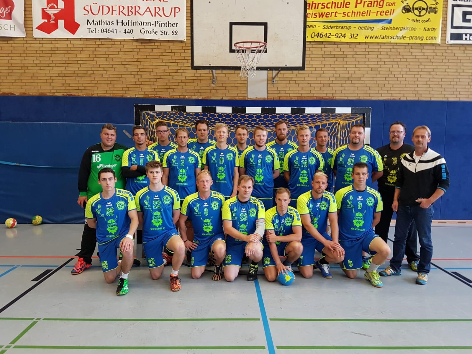 erste Herren Handball Süderbrarup