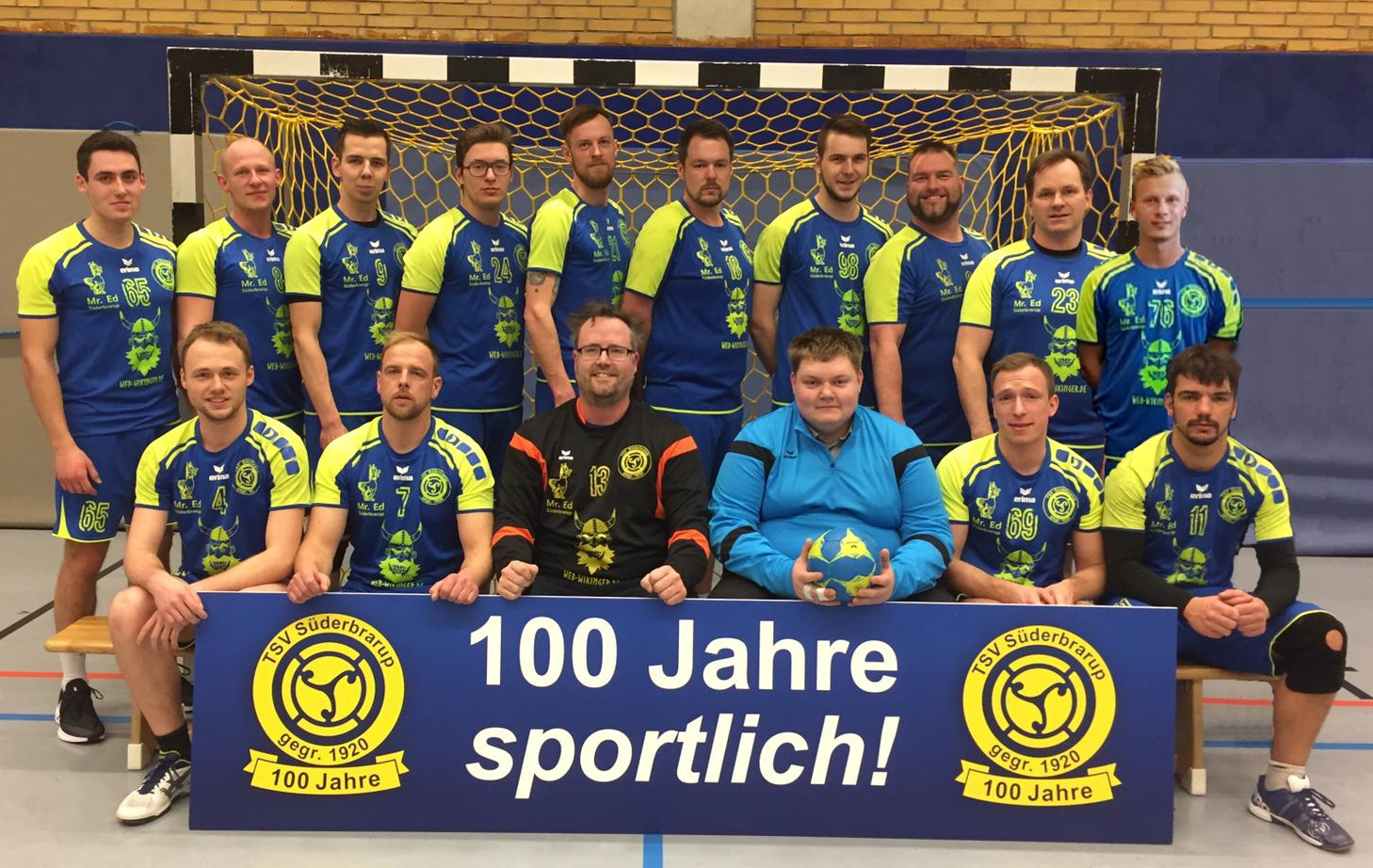 Erste Männer Handball